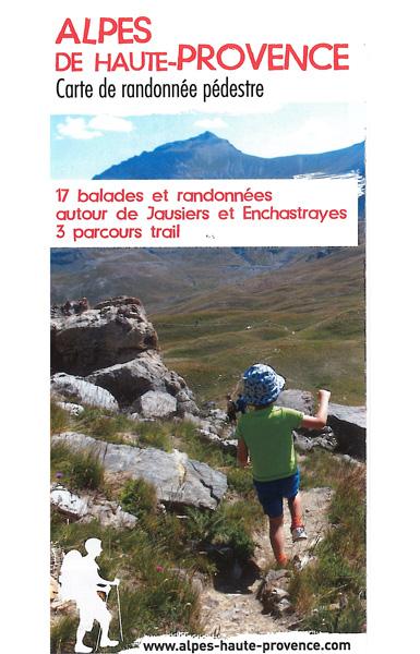 Jausiers et Enchastrayes - 19 balades et randonnées et 3 parcours trail
