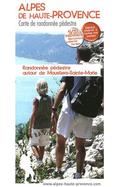 Moustiers Sainte Marie - 12 promenades et randonnées