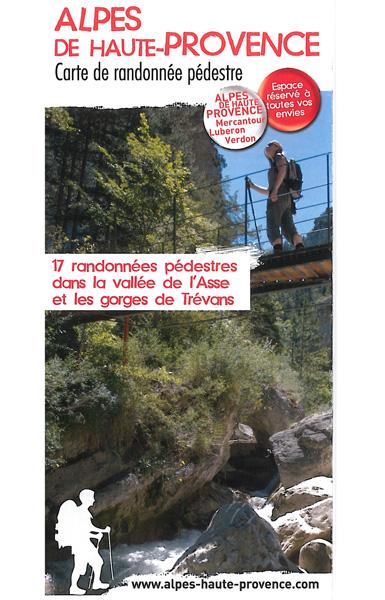 Vallée de l'Asse et les Gorges de Trévans - 17 randonnées pédestres
