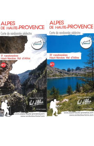 Haut Verdon Val d'Allos - 54 promenades et randonnées