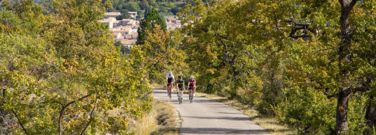 Cyclotourisme dans le Pays de Forcalquier Montagne de Lure ©AD04-Thibaut Vergoz