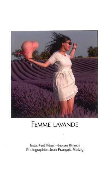 Femme Lavande Alpes de Haute Provence