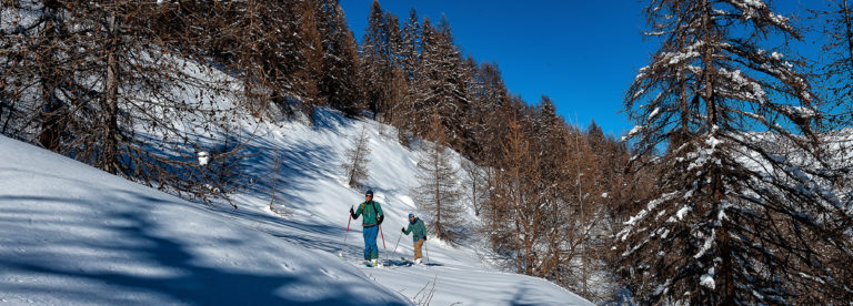 Ski de randonnée ©AD04-Raoul Getraud
