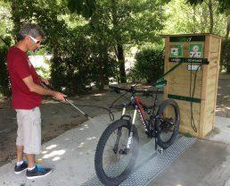 Stations-services pour vélos VTT de Digne-les-Bains