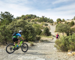 VTT Provence Alpes secteur « Val de Durance » ©OT