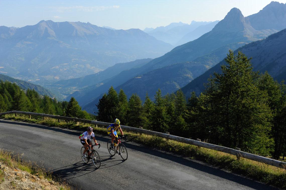 Col Allos en vélo ©AD04-Manu Molle