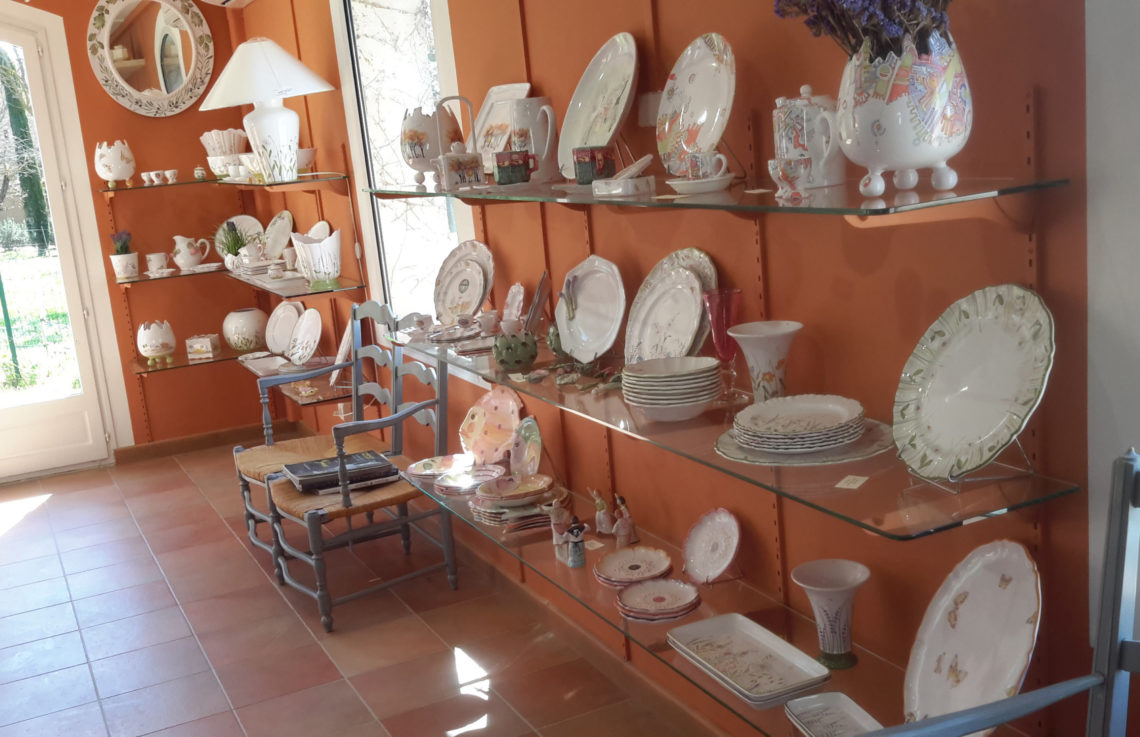 atelier et boutique de faïence de Moustiers, ©AD04