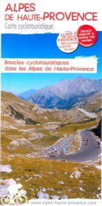 Carte cyclotouristique : 17 boucles cyclotouristiques Alpes de Haute-Provence