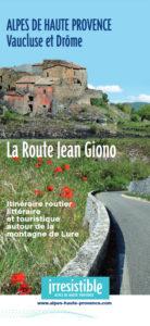 Carte La route Jean Giono