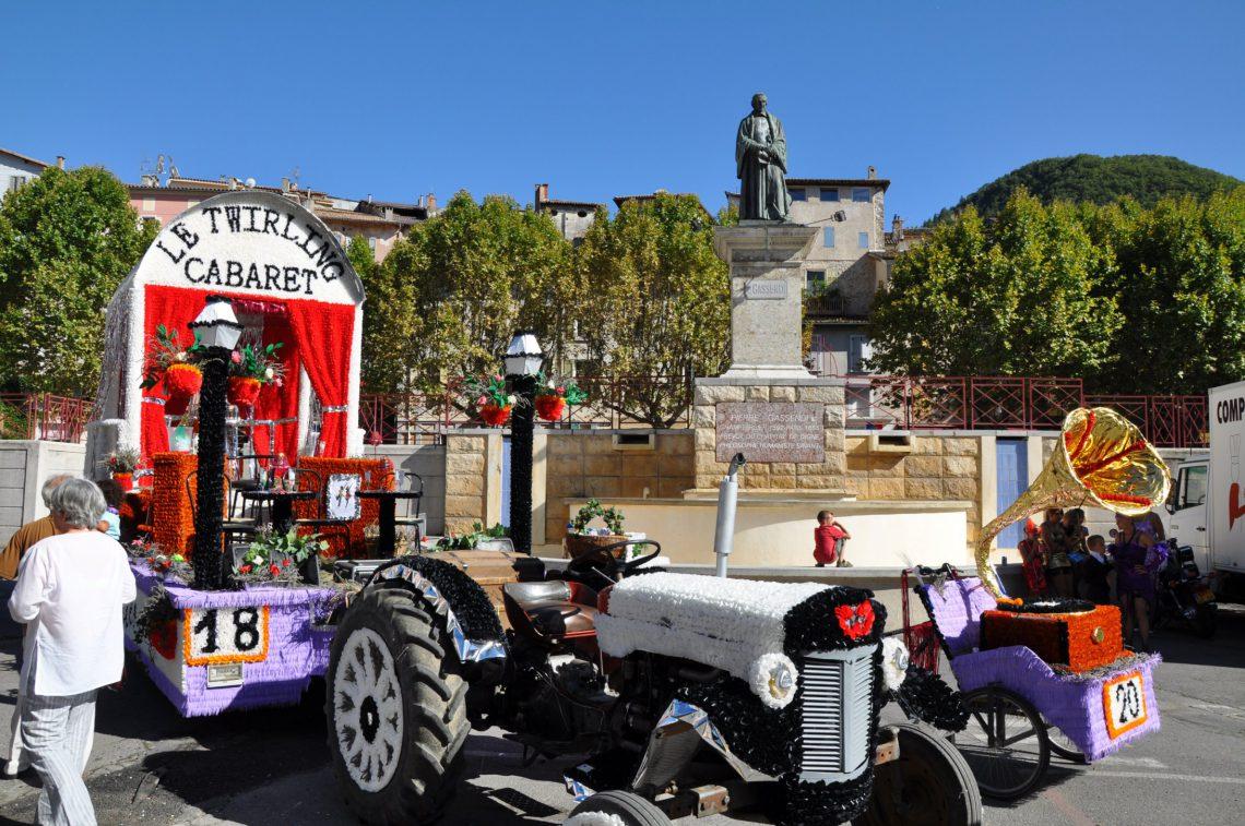 corso de la lavande à Digne-les-Bains