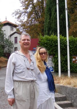 Corine T. et Robert B. à la maison Alexandra David-Néel