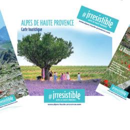 Brochures des Alpes de Haute Provence