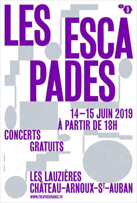 Les Escapades à Château-Arnoux-Saint-Auban - 14 et 15 juin 2019