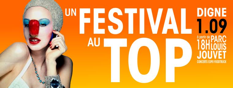 Festival au Top à Digne-les-Bains - le 1er septembre 2018