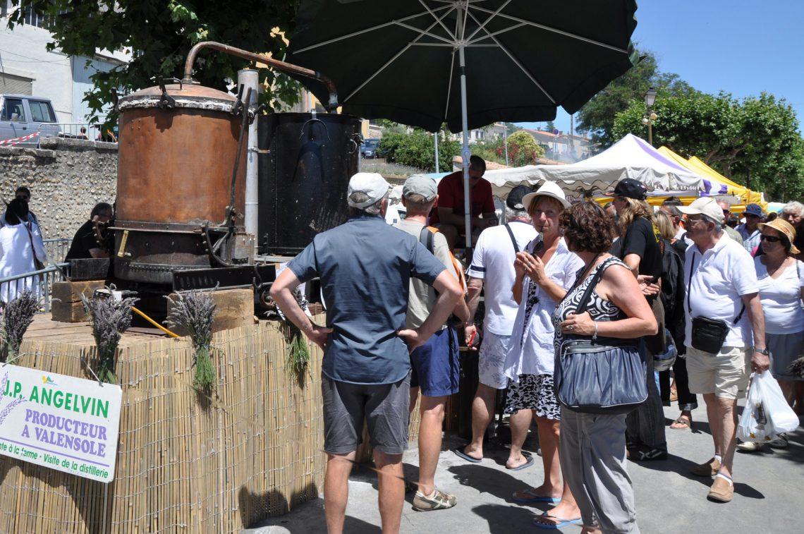 La fête de la lavande à Valensole