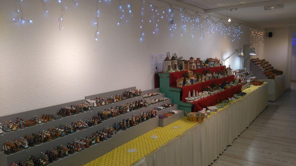 exposition-vente de santons et crèches à Sisteron