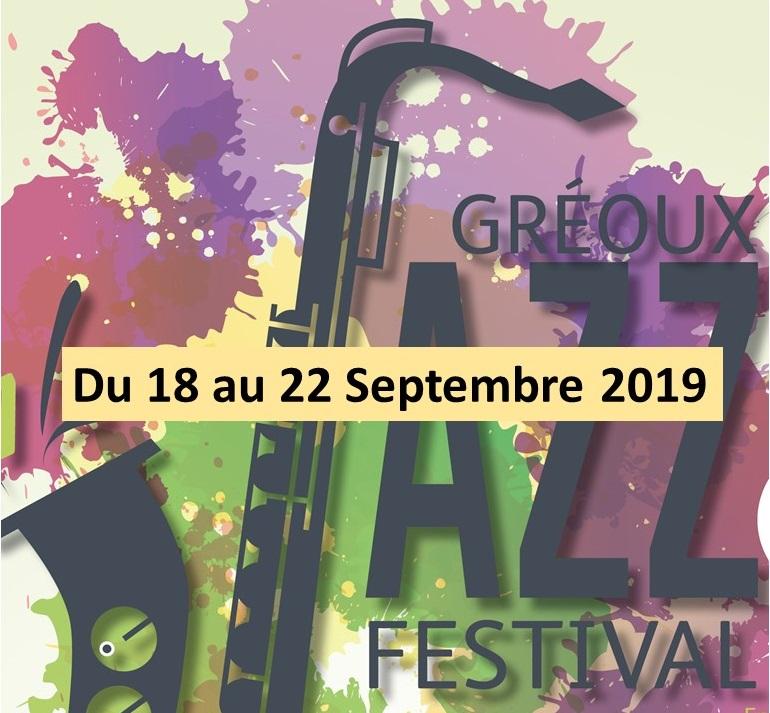 Gréoux Jazz Festival à Gréoux-les-Bains - du 18 au 22 septembre 2019