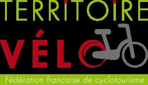 Logo du Label Territoire vélo décerné au département des Alpes de Haute Provence