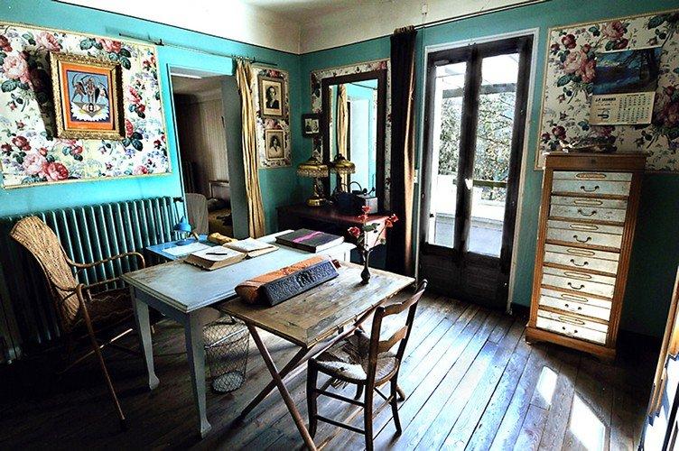 Chambre Maison Alexandra David-Néel ©Ville de Digne les Bains
