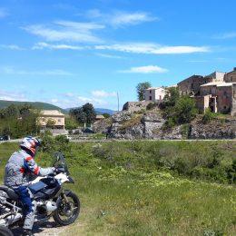 itinérance à moto
