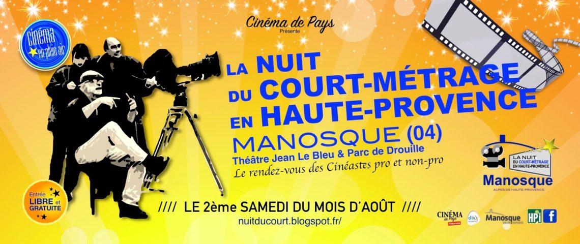 La nuit du court-métrage en Haute-Provence à Manosque