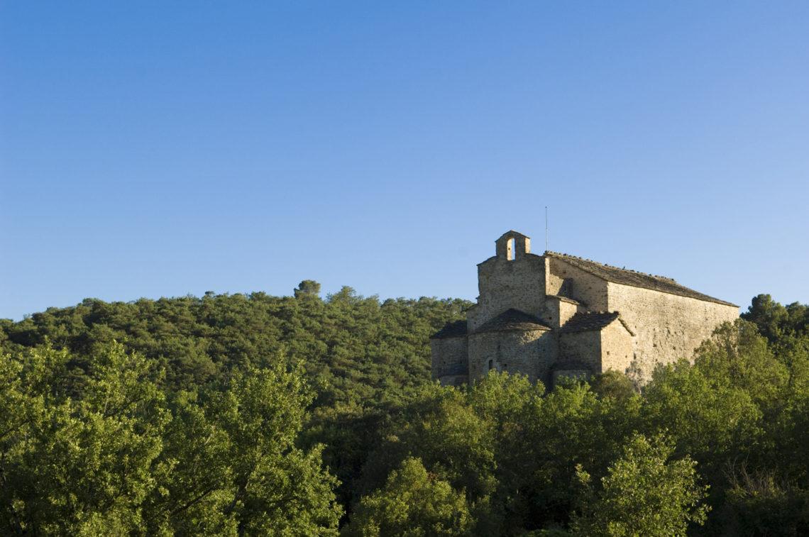 chapelle Saint Donat sur le Chemin de St Jacques de Compostelle