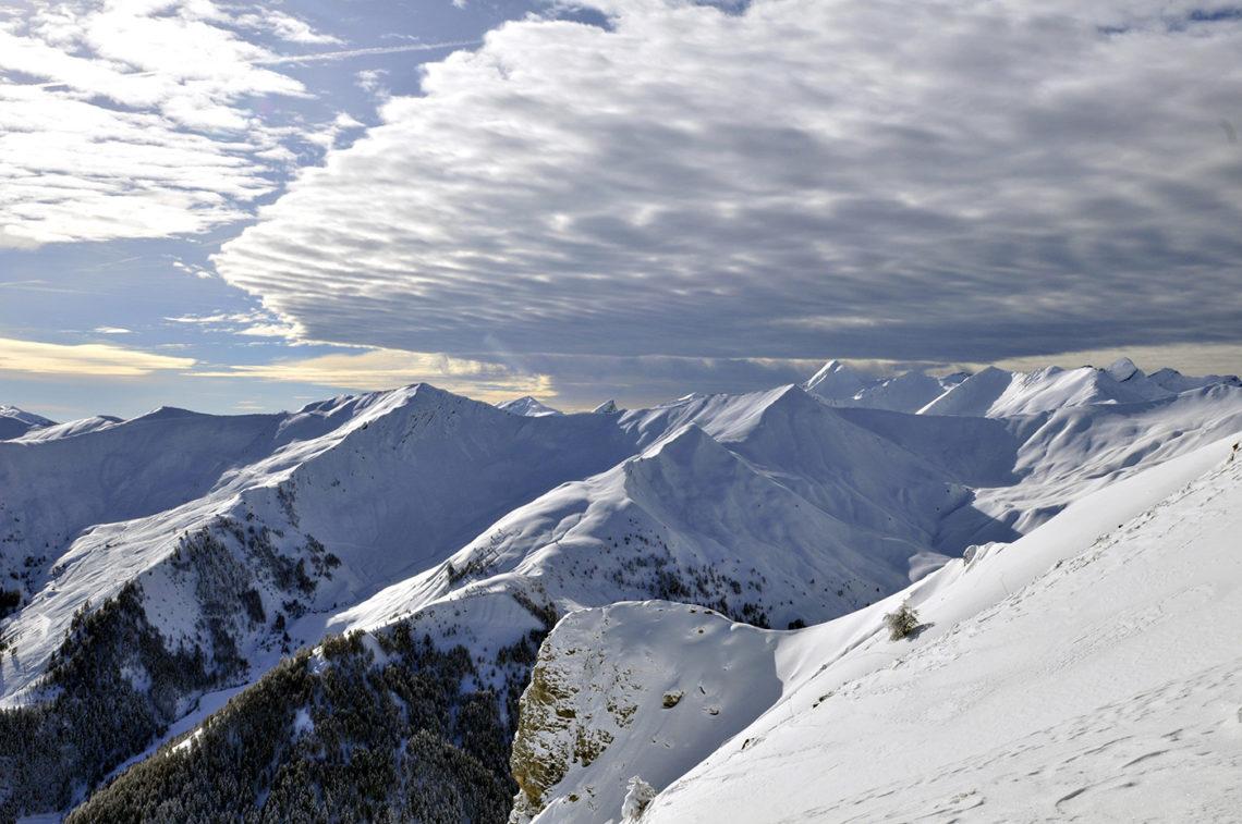 Station de ski Espace Lumière ©AD04/Manu Molle
