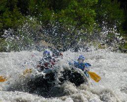 rafting sportif en Ubaye ©Anaconda rafting