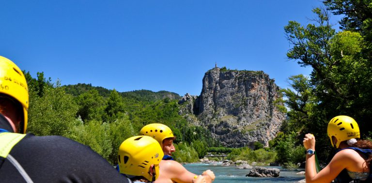 rafting sur le Verdon