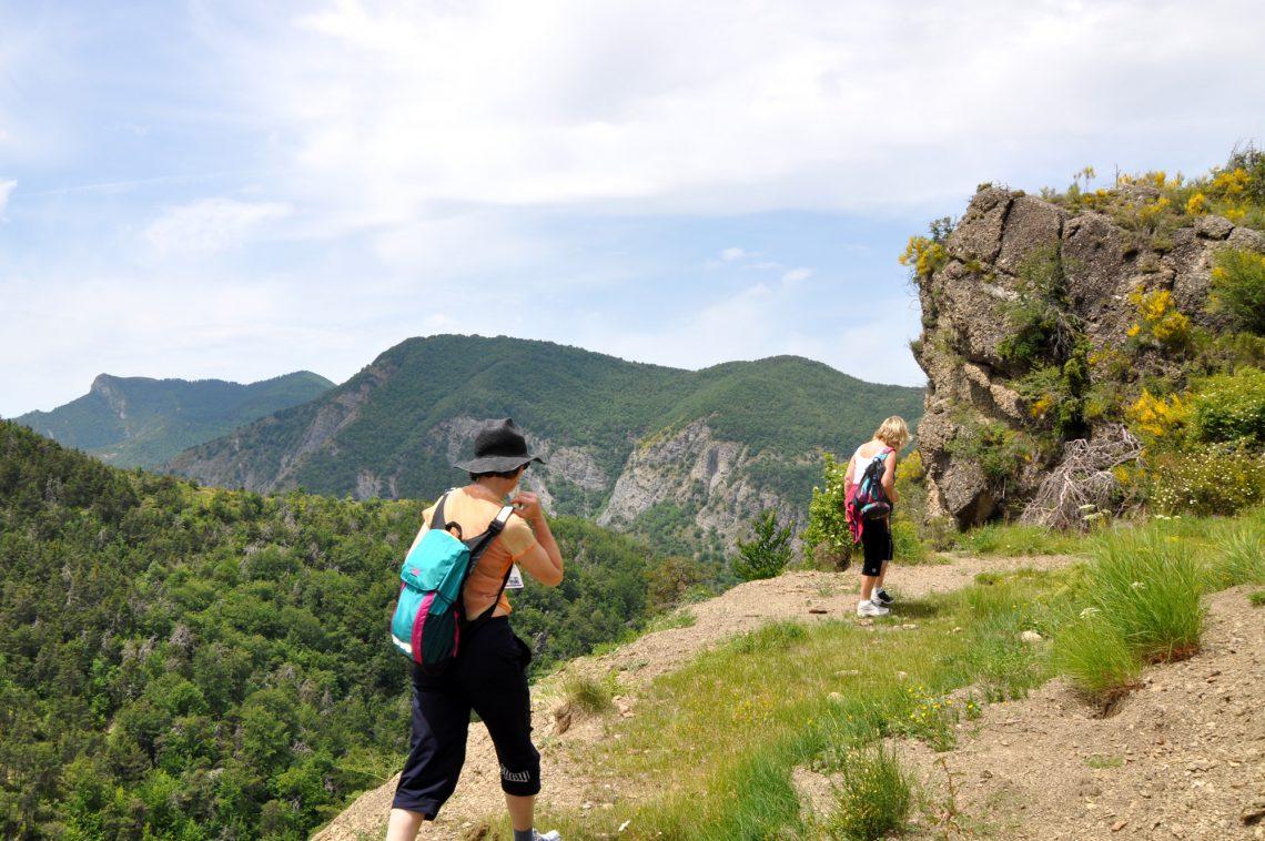Faites des randonnées en octobre 2018 dans les Hautes Terres de Provence et le Massif des Monges