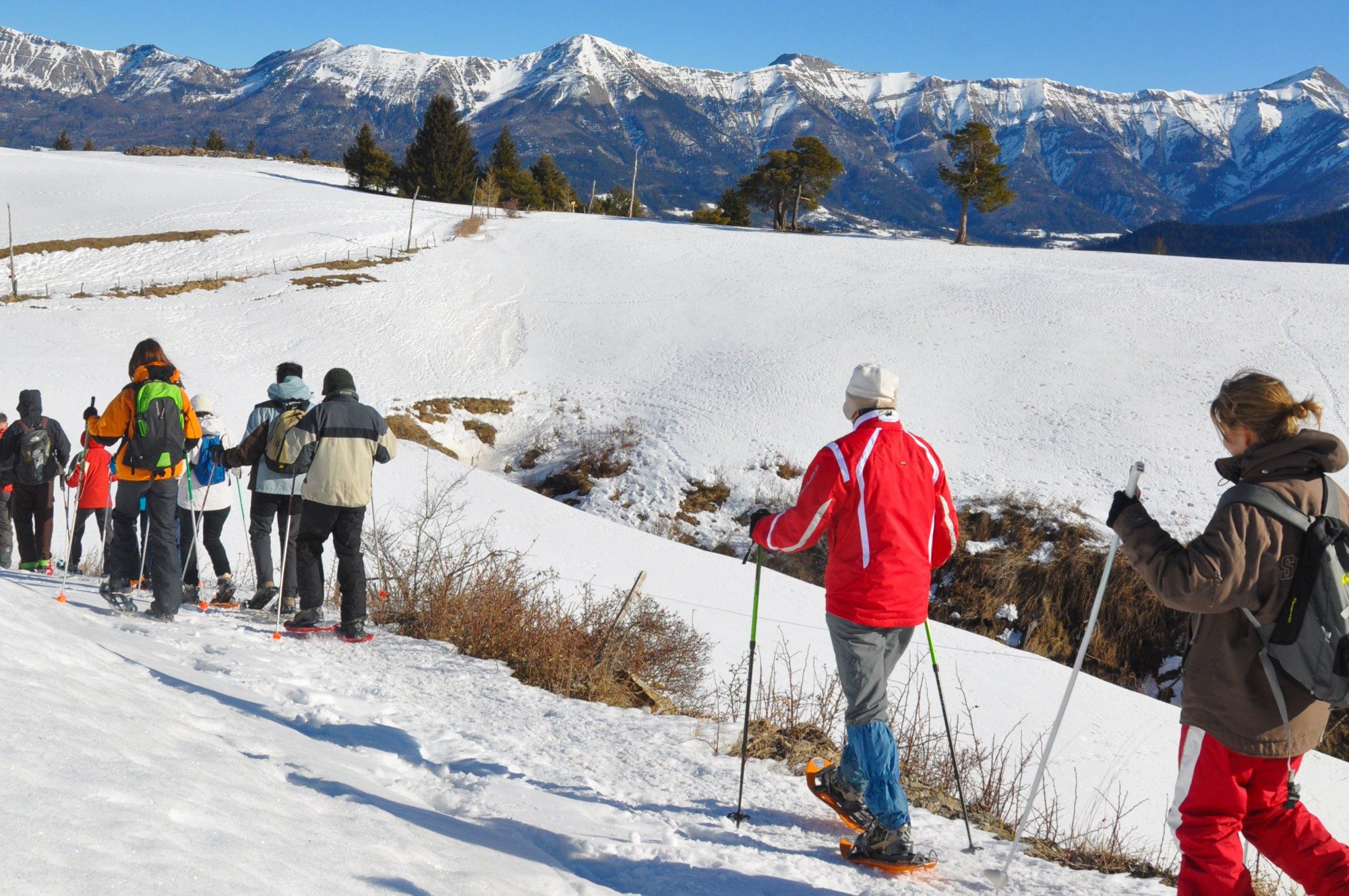 Domaine nordique du fanget alpes de haute provence tourisme - Office tourisme montgenevre hautes alpes ...