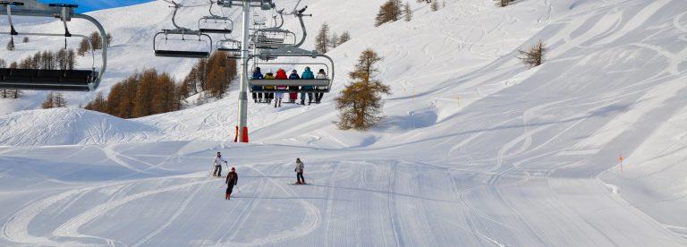 Station de ski Pra Loup Espace Lumière