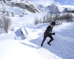 Course sur neige Saint-Paul sur Ubaye ©AD04/Manu Molle