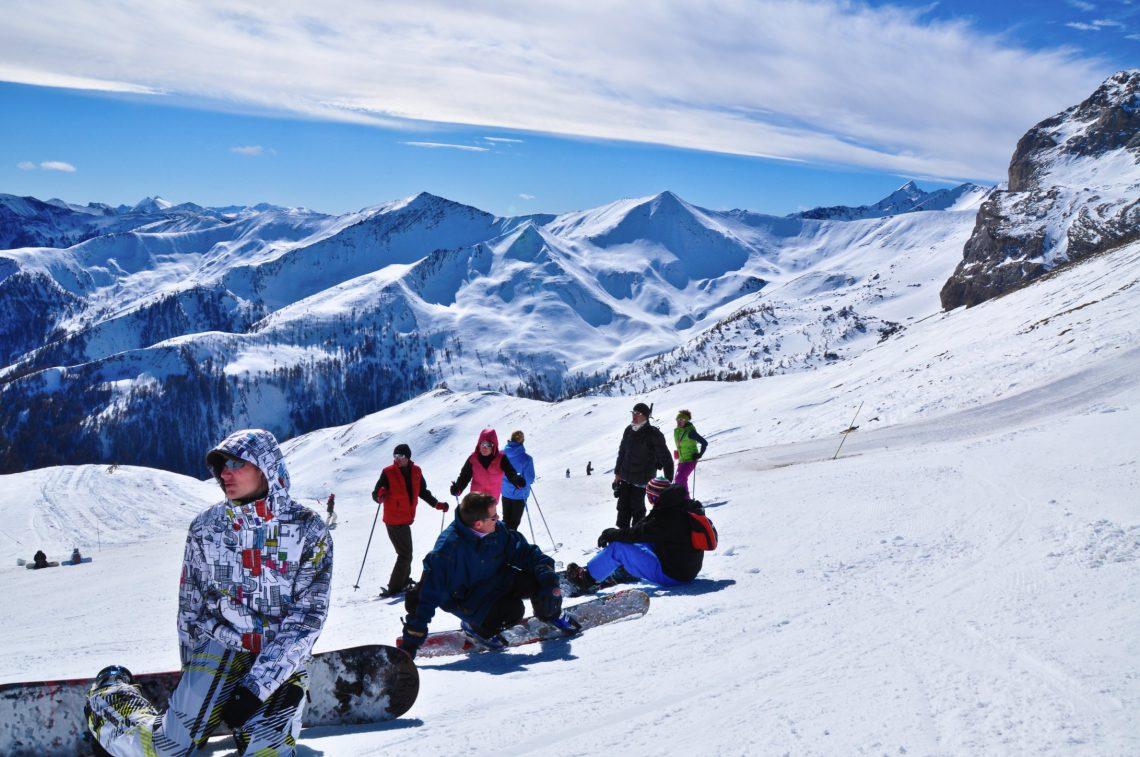 Station de ski de Pra Loup Espace Lumière