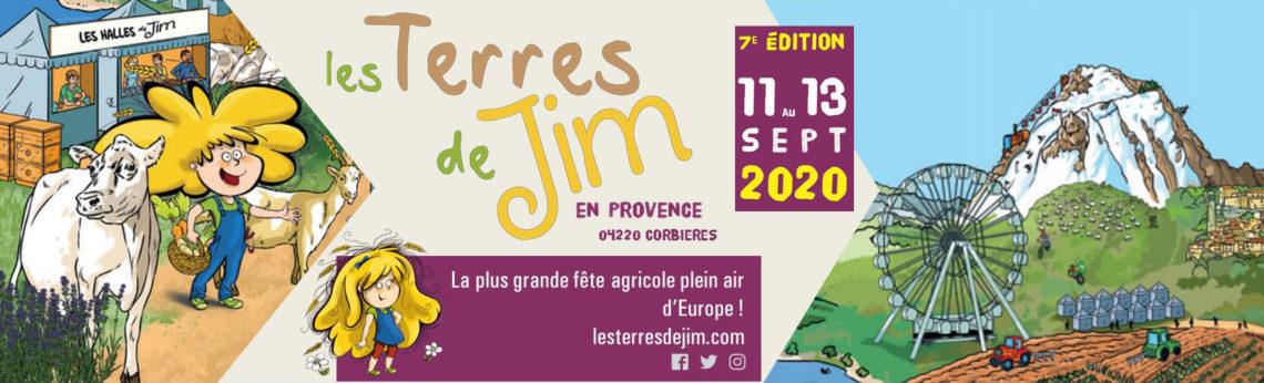 Les Terres de Jim à Corbières - Du 11 au 13 septembre 2020