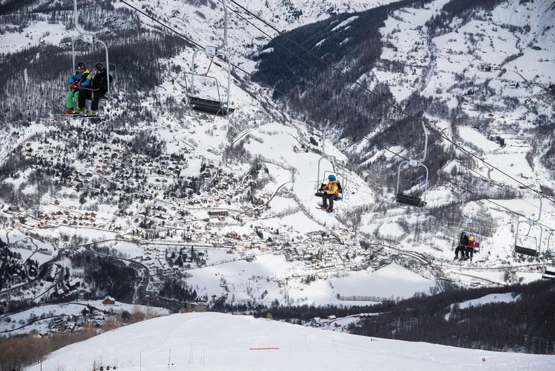 Station de ski Val d'Allos Le Seignus ©AD04/Manu Molle