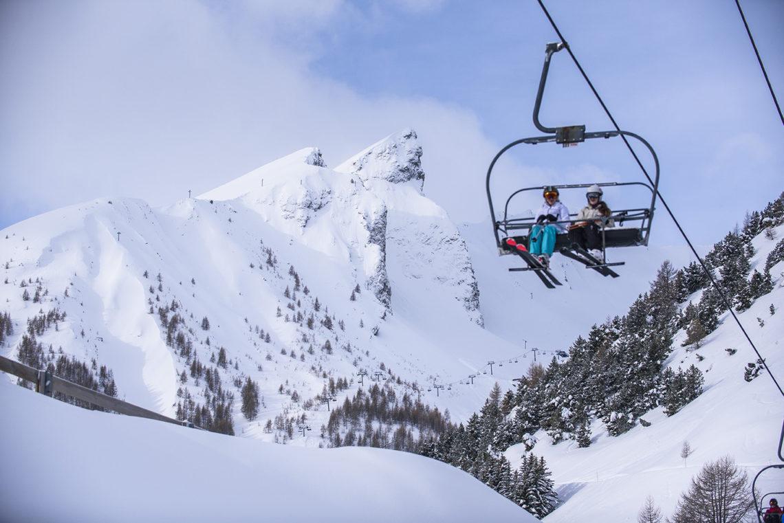 Station de ski de Val d'Allos – La Foux ©AD04/Manu Molle