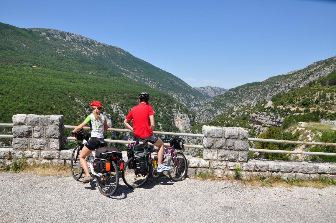 cyclotourisme en itinérance