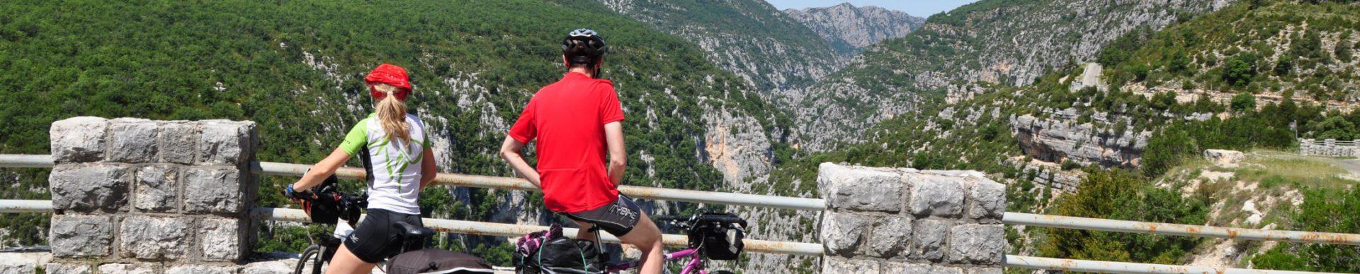 Itinérances à vélo - Alpes de Haute Provence Tourisme