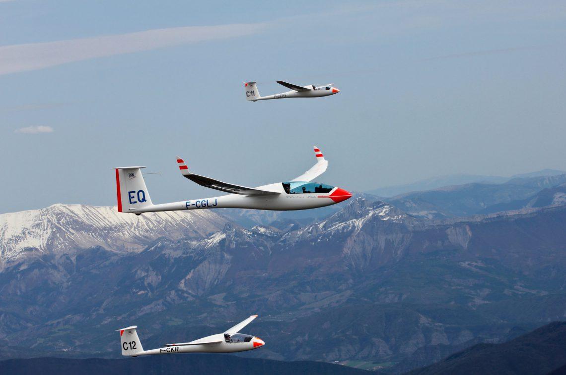 vol à voile dans le Val de Durance
