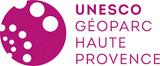 Logo UNESCO Géoparc de Haute-Provence
