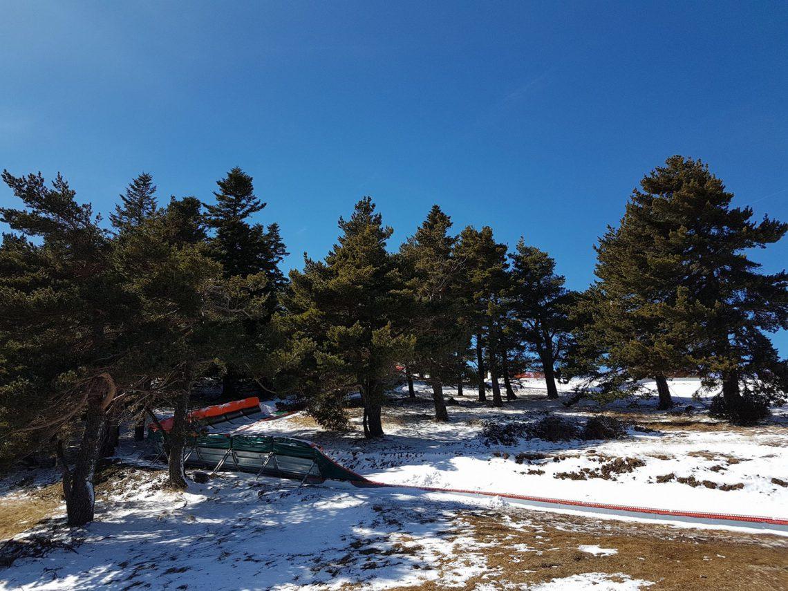 montagne de Lure en hiver ©OT Lure