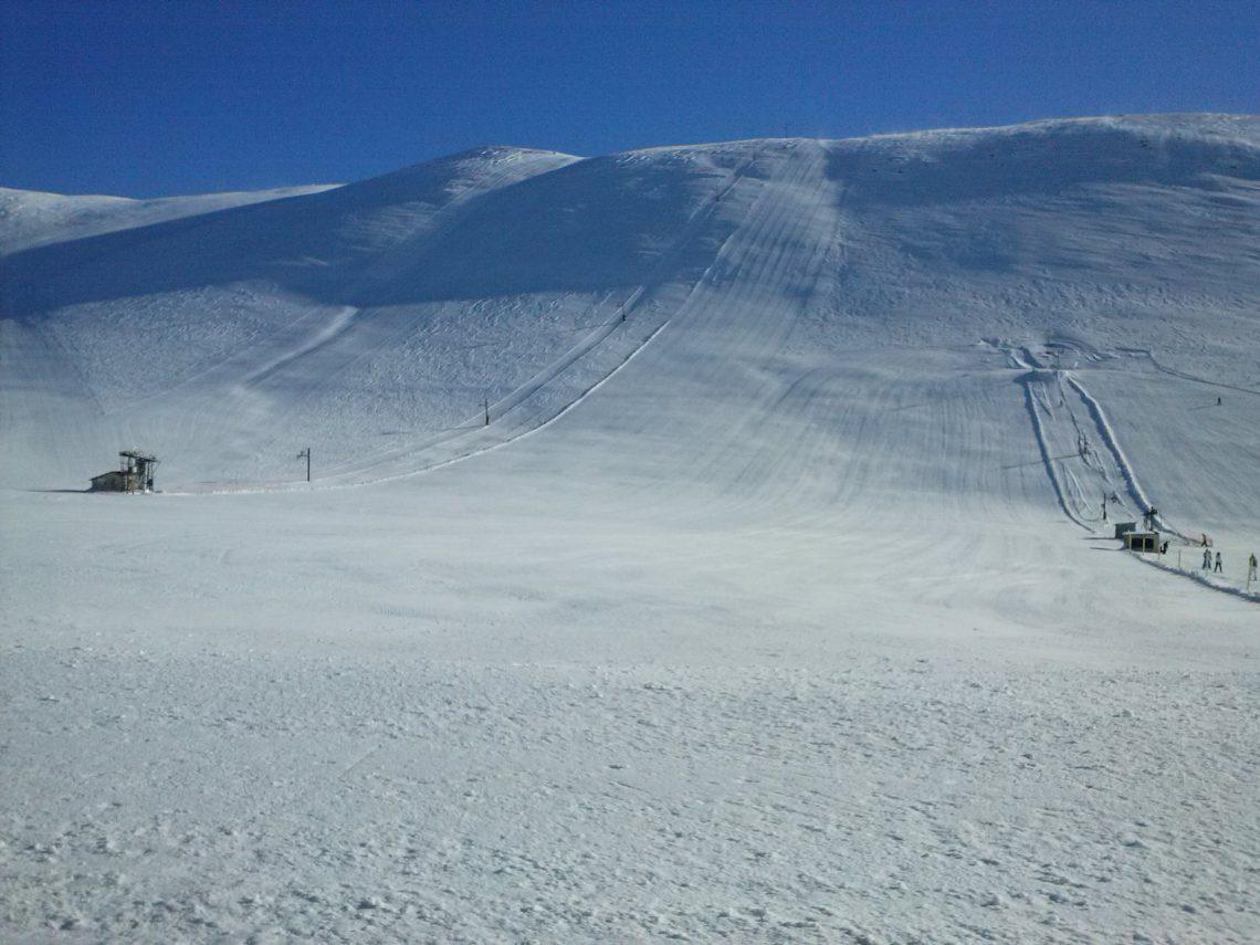 Stade de neige de Soleilhas Vauplane