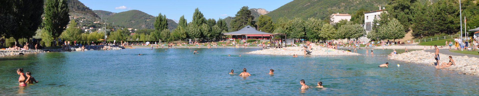 Plan d'eau de Digne-les-Bains