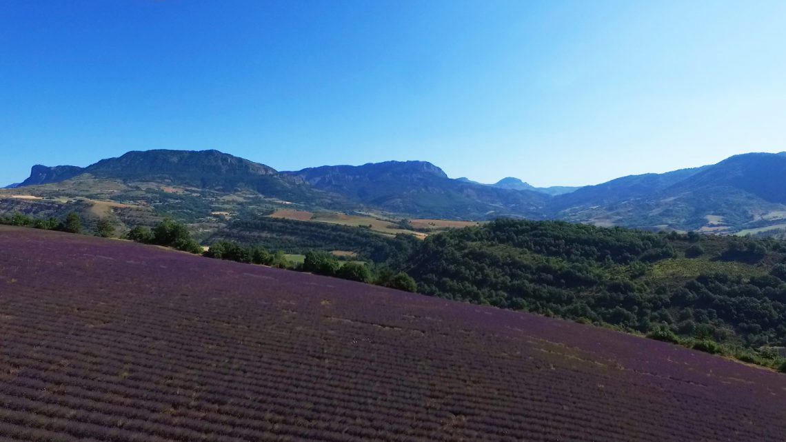 paysage de l'UNESCO Géoparc de Haute-Provence