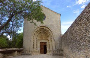 Eglise de Ganagobie - RM - CD Alpes de Haute-Provence