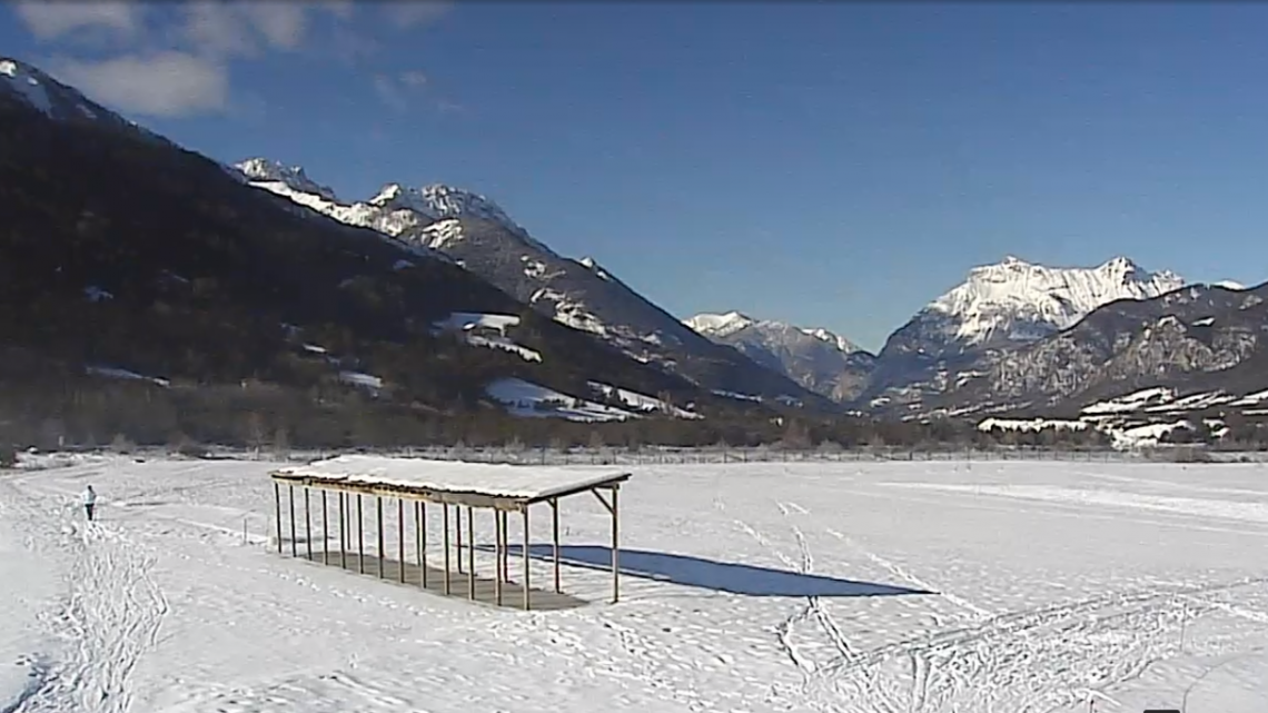 Webcam Barcelonnette - site nordique du golf du Bois Chenu