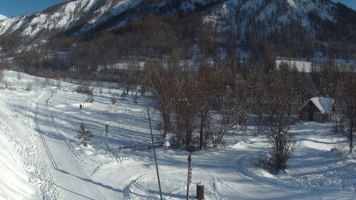 Webcam Saint-Paul-sur-Ubaye – site nordique – Haute Ubaye