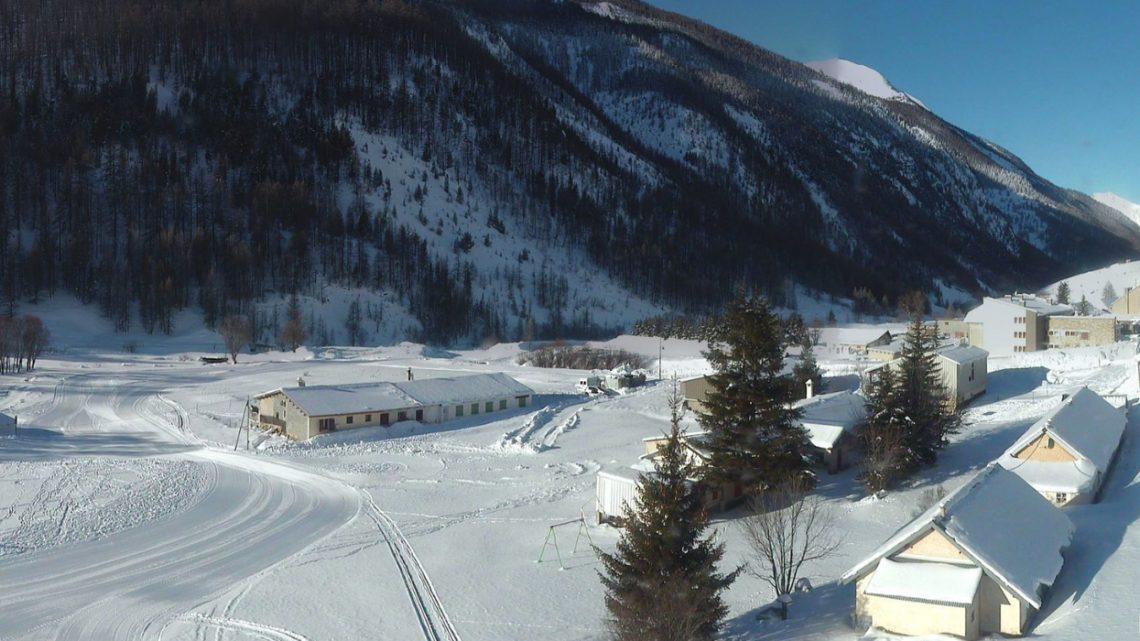 Webcam Val d'Oronaye - site nordique / station ski - Haute Ubaye