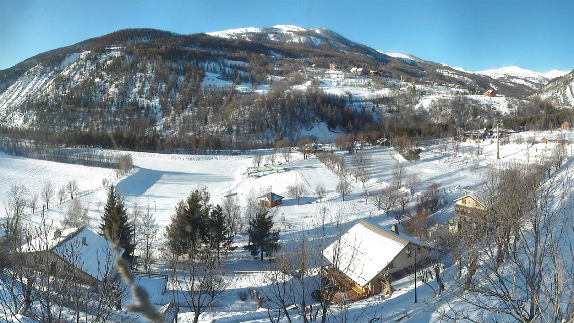 webcam village Val d'Allos Le Village